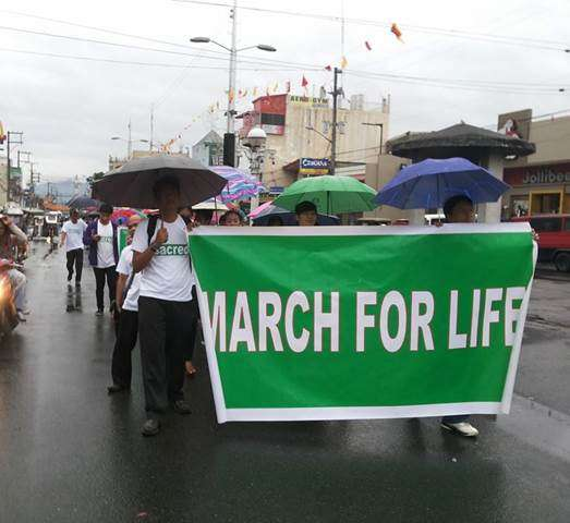 March For Life In The Philippines