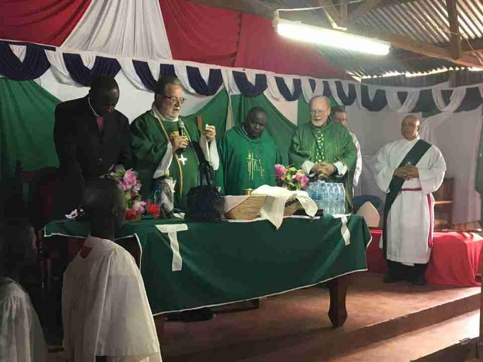Worship Service In Kiberia Slum