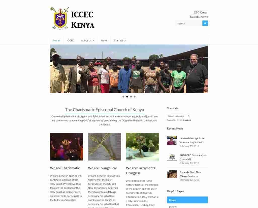 CEC Kenya gets updated Website 45