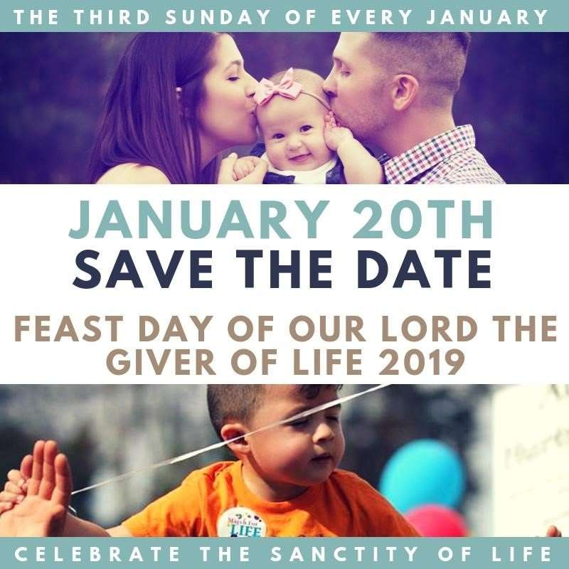 Sanctity of Life Sunday 7