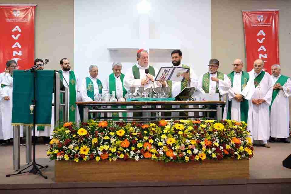 Patriarch Visits Brazil 76