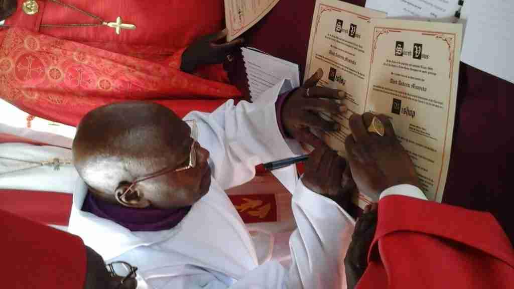 Newest Bishop in Africa- Abed Musyoka 9