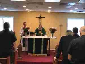 CEC Diocese Retreat Altar