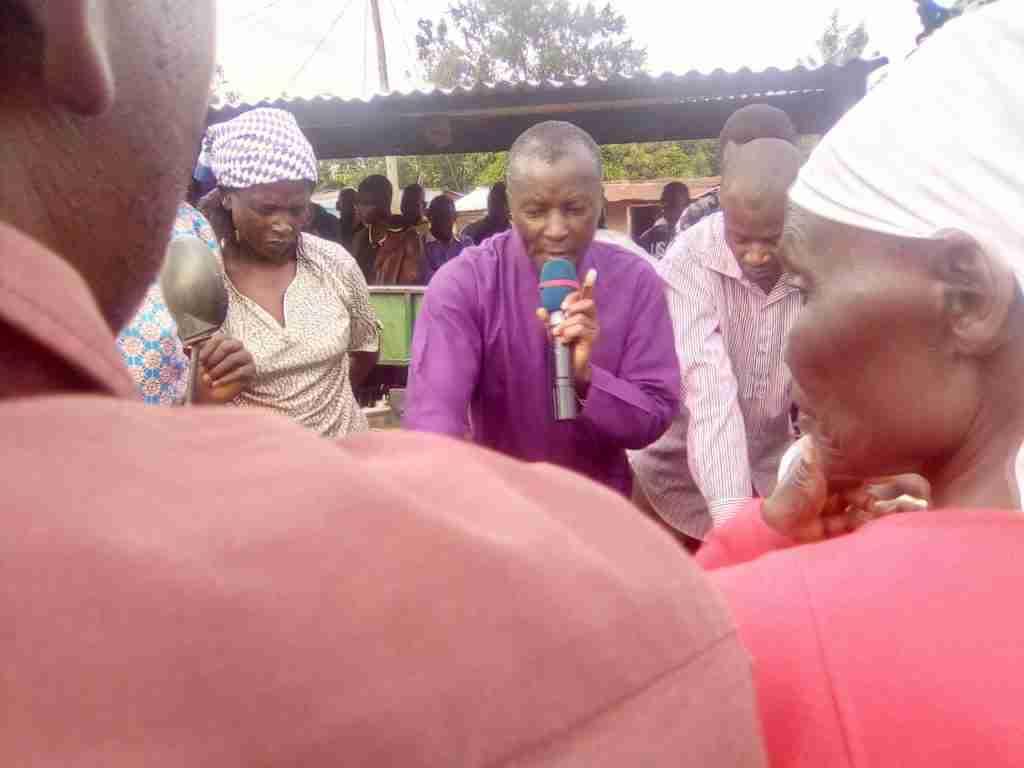 Bishop Peter chunge conducts crusade 7