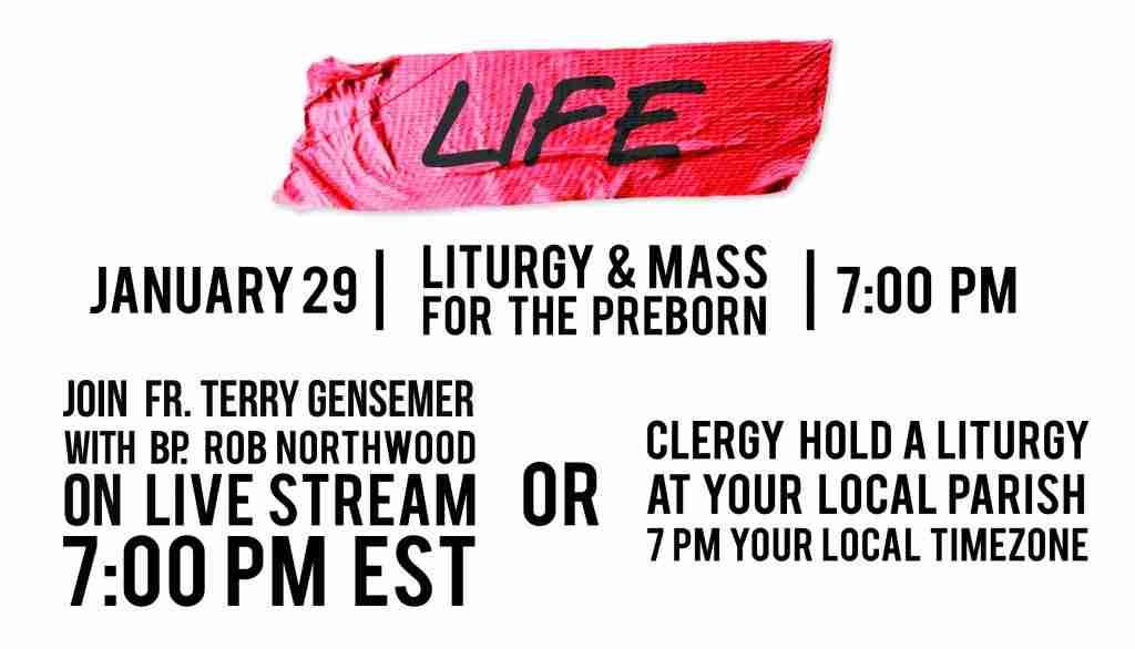 Liturgy & Mass for the Pre-Born