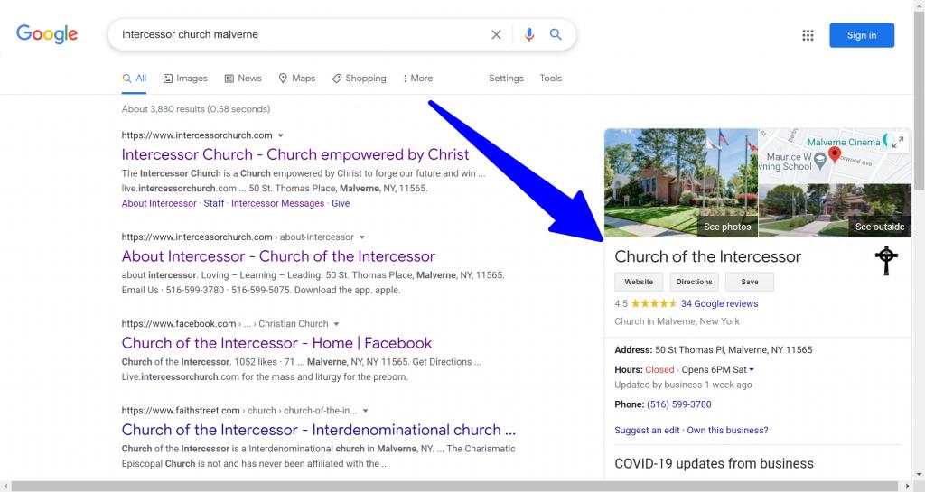 Church Online Presence 1